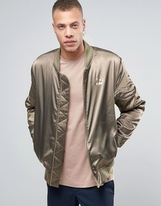 Куртка-пилот цвета хаки Puma Luxe эксклюзивно для ASOS - Зеленый