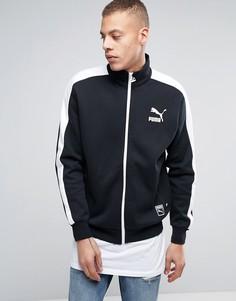 Черная спортивная куртка Puma T7 - Черный