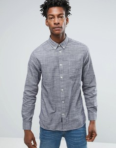 Рубашка узкого кроя Selected - Серый