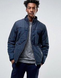 Стеганая куртка Selected - Темно-синий