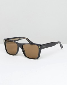 Солнцезащитные очки в квадратной оправе Gucci - Черный
