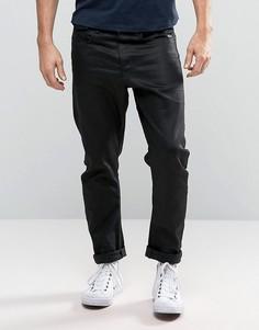 Суженные книзу джинсы из необработанного денима G-Star MT Type C 3D - Синий