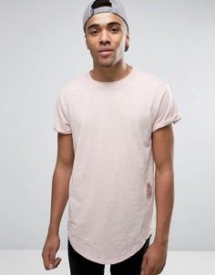 Свободная футболка G-Star BeRaw Qane - Розовый