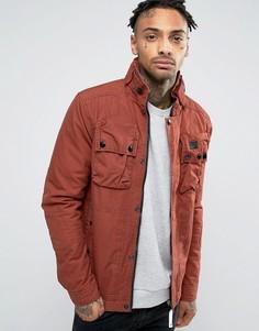 Дутая куртка G-Star Ospak - Коричневый