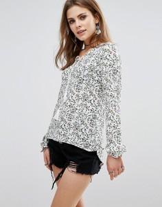 Блузка с завязкой спереди Glamorous - Белый