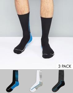 Комплект из 3 пар носков Calvin Klein Performance - Мульти