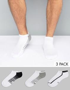 Комплект из 3 пар спортивных носков Calvin Klein - Белый