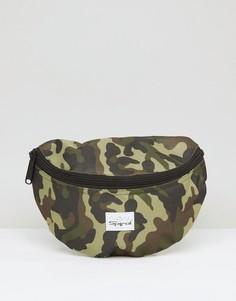 Камуфляжная сумка-кошелек на пояс Spiral - Зеленый