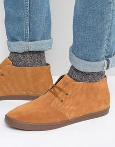 Замшевые ботинки чукка Fred Perry Byron - Рыжий
