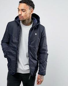 Куртка с капюшоном G-Star Setscale DNM - Синий