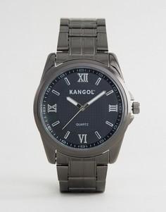 Часы серого металлического цвета Kangol - Серебряный