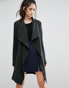 Весеннее пальто Only - Зеленый