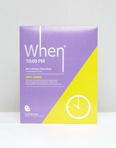 Тканевая маска для лица When 10:00PM - Бесцветный