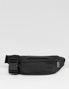 Черная сумка-кошелек на пояс с логотипом Reebok - Черный