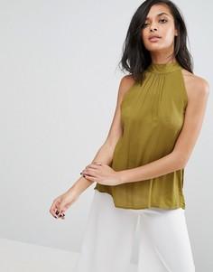 Блузка с халтером Minimum - Зеленый