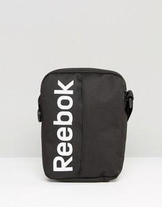 Черная сумка для авиапутешествий Reebok AB1267 - Черный