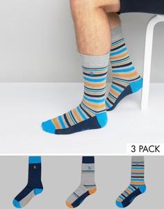 Подарочный набор из 3 пар носков Original Penguin - Мульти