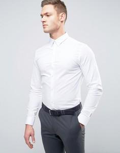 Строгая рубашка скинни Selected Homme - Белый