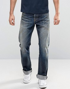 Свободные джинсы с кромкой Edwin ED-39 Red Listed - Синий