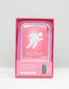 Спортивный браслет на предплечье Urbanista Sao Paulo - Розовый
