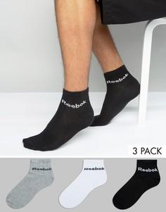 Набор из 3 пар разноцветных носков Reebok AB5275 - Мульти