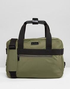 Тканевая сумка-сэтчел Dr Martens - Зеленый
