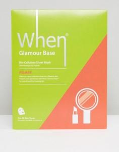 Разглаживающая маска-салфетка When Glamour Base - Бесцветный