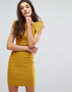 Платье-футляр Vesper - Желтый
