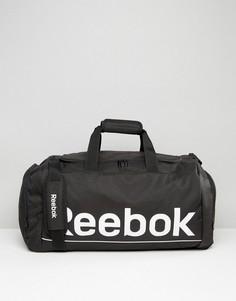 Черная средняя сумка дафл Reebok S23037 - Черный