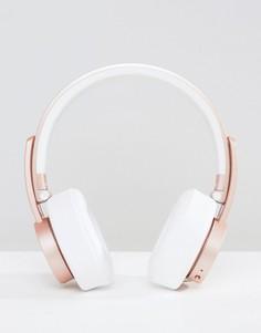 Беспроводные наушники цвета розового золота Urbanista Seattle - Розовый