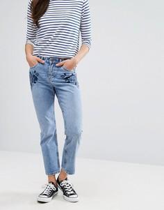 Джинсы в винтажном стиле New Look - Синий