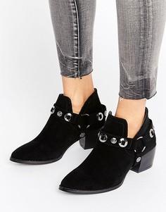Ботинки в стиле вестерн Truffle Collection - Черный