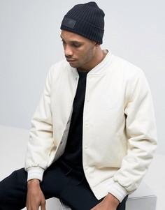 Черная шапка-бини New Balance - Черный