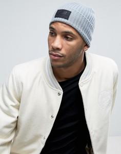 Серая шапка-бини New Balance - Серый