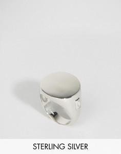 Серебряное кольцо-печатка Lavish Alice - Серебряный