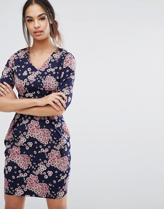 Цельнокройное платье с цветочным принтом Poppy Lux - Мульти