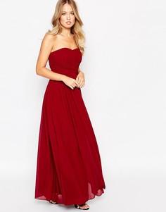 Платье Y.A.S Molly - Красный