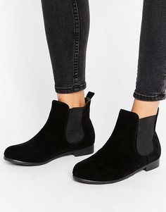 Ботинки челси на плоской подошве Truffle Collection - Черный