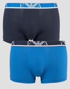 2 пары боксеров-брифов Emporio Armani - Синий