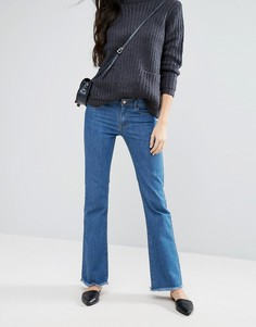 Расклешенные джинсы First & I - Синий