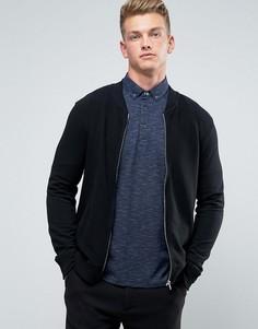 Трикотажная куртка-пилот Burton Menswear - Черный