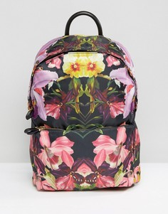 Рюкзак с цветами Ted Baker - Черный