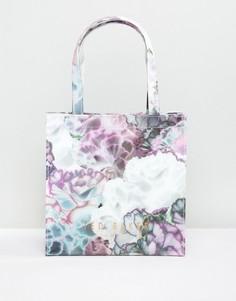 Маленькая сумка с цветами Ted Baker - Фиолетовый