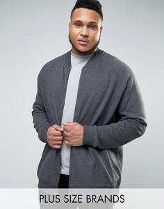 Свитшот на молнии Burton Menswear PLUS - Серый