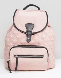 Стеганый рюкзак New Look - Розовый