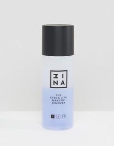 Средство для снятия макияжа глаз и губ 3ina - Бесцветный