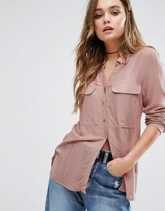 Рубашка Vila - Фиолетовый