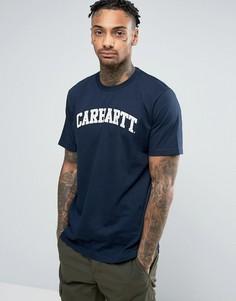 Футболка Carhartt WIP Yale - Темно-синий