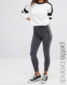 Джинсы скинни New Look Petite - Серый