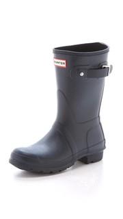 Оригинальные короткие сапоги Hunter Boots